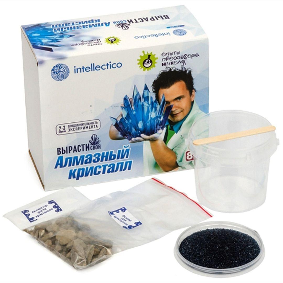 Набор для выращивания кристаллов Intellectico (Синий)