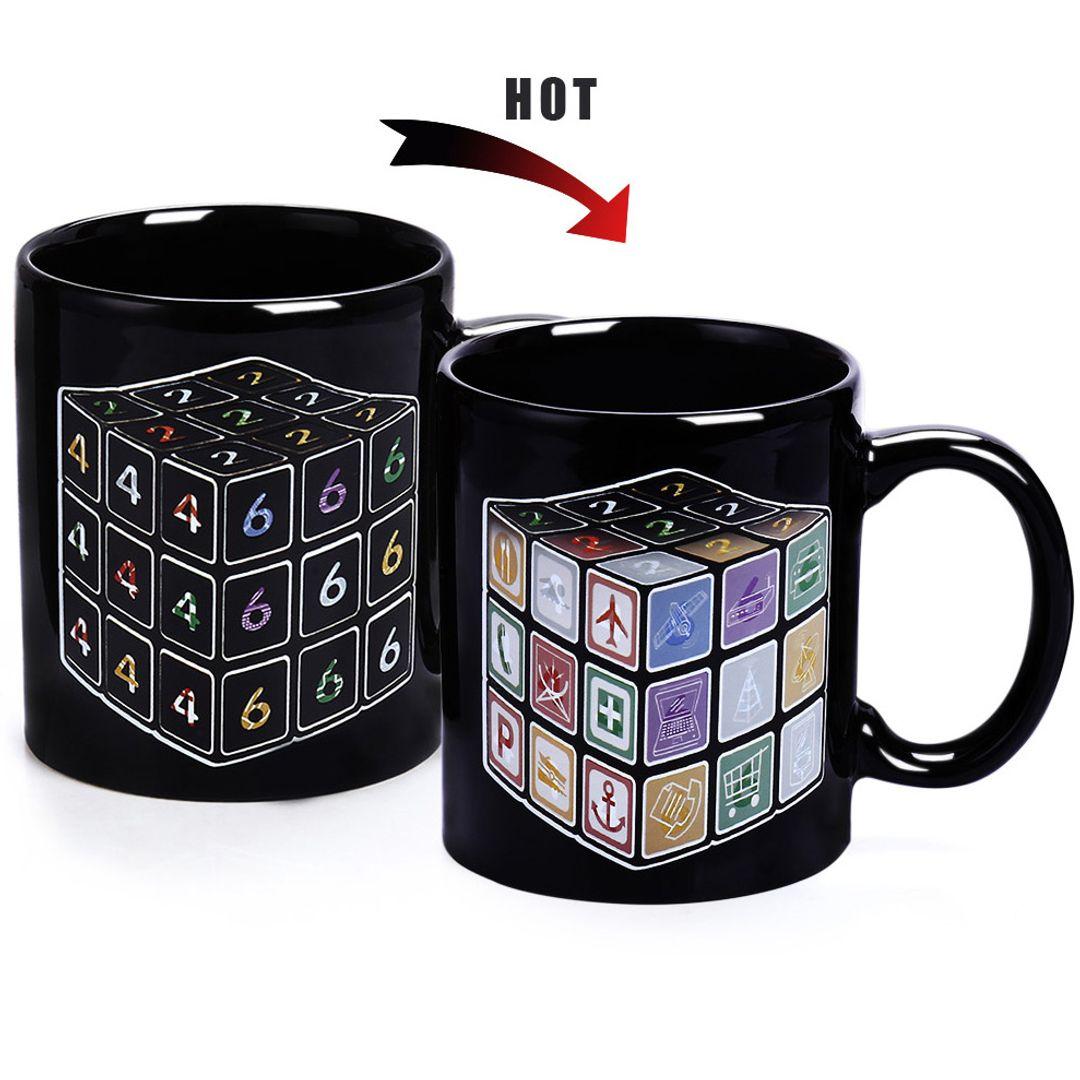 Термокружка Кубик Рубика Рисунок меняется при нагревании