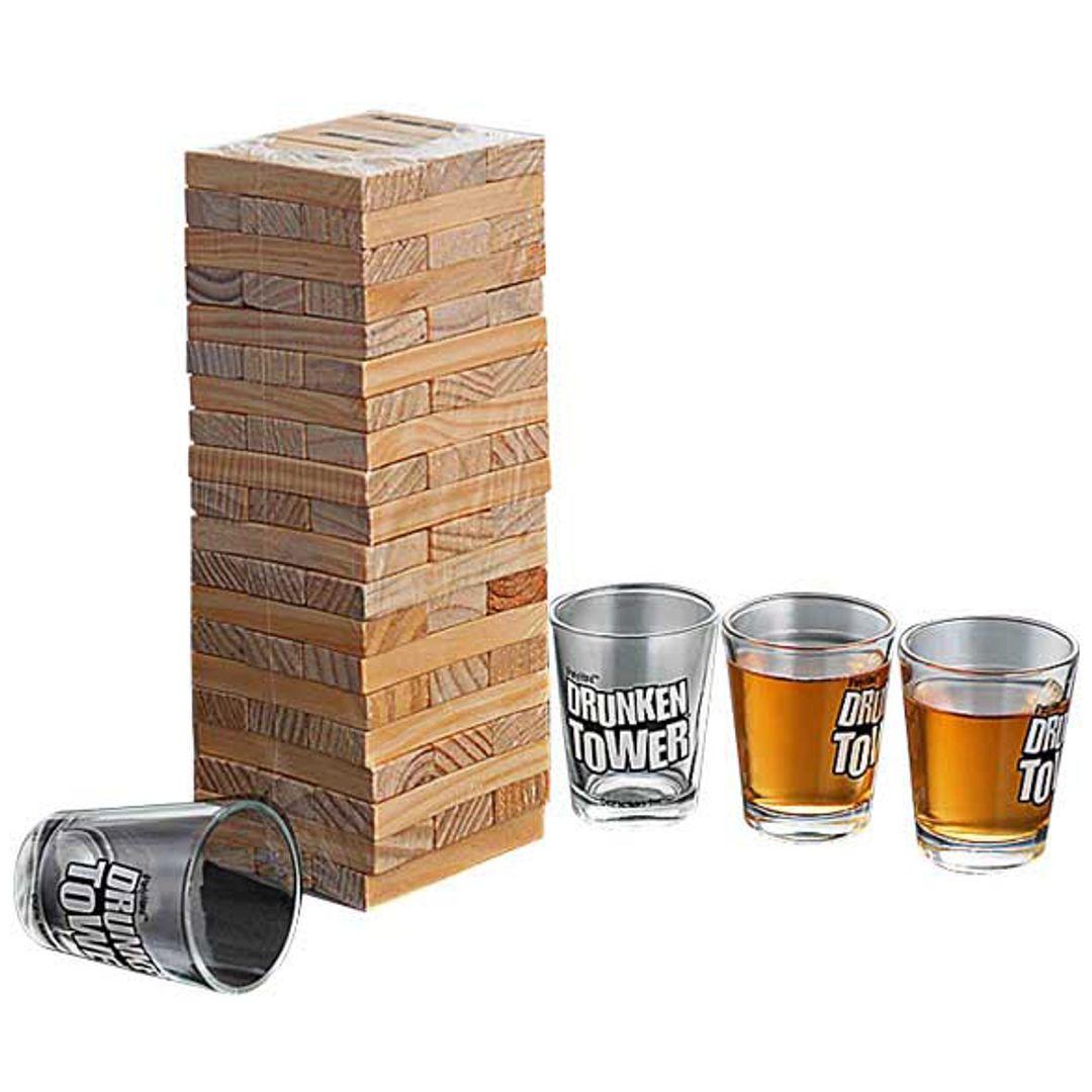 Пьяная башня Drunken Jenga