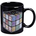 Термокружка Кубик Рубика В нагретом виде