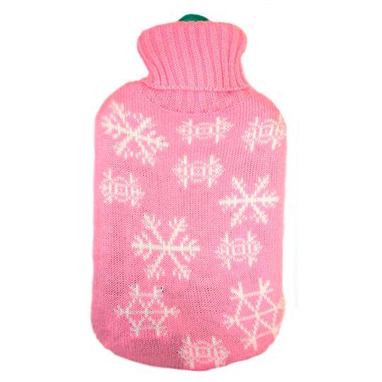 Грелка в свитере Розовая