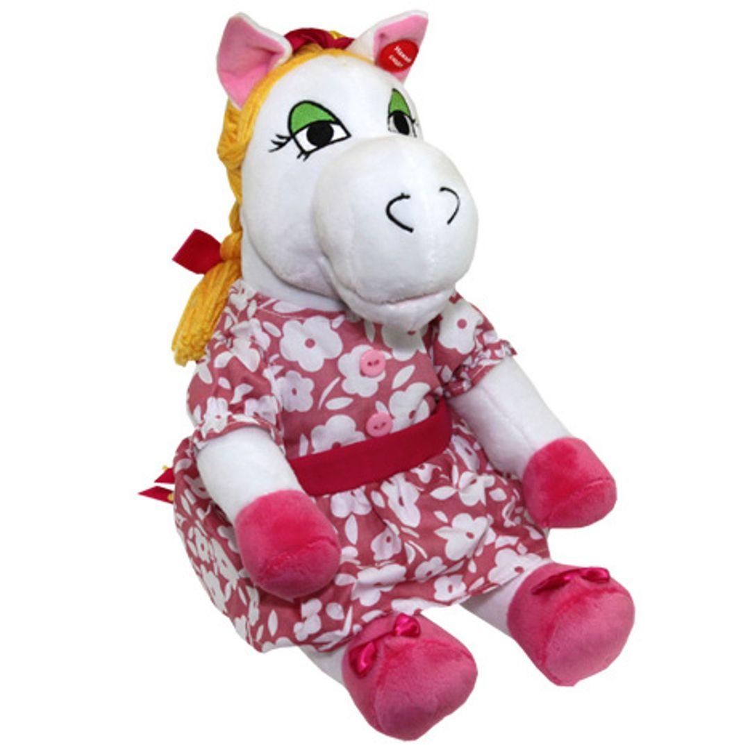 Музыкальная игрушка Белая лошадка