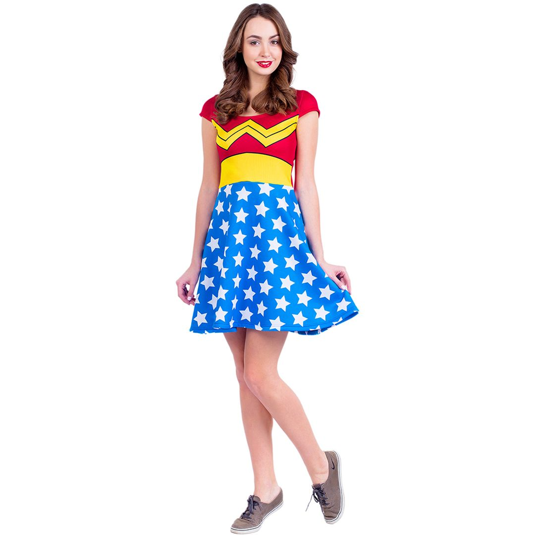 Платье Wonder Woman (Фонарик)