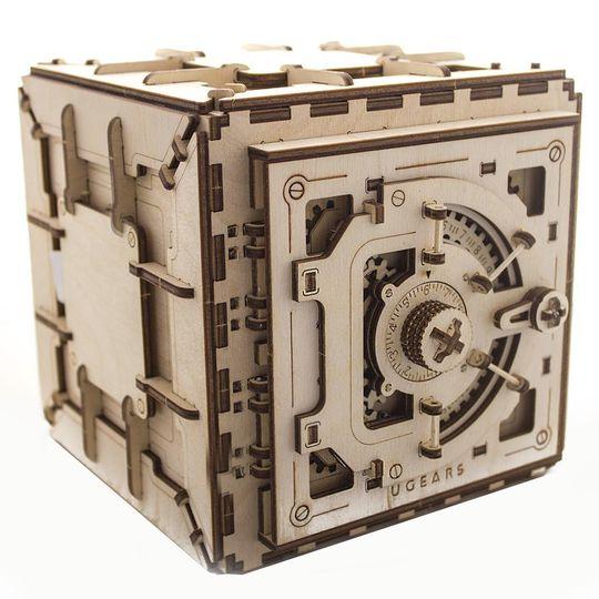 Механический 3D Пазл Ugears Сейф