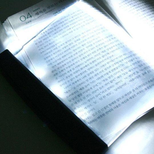 Светящаяся панель для чтения книг