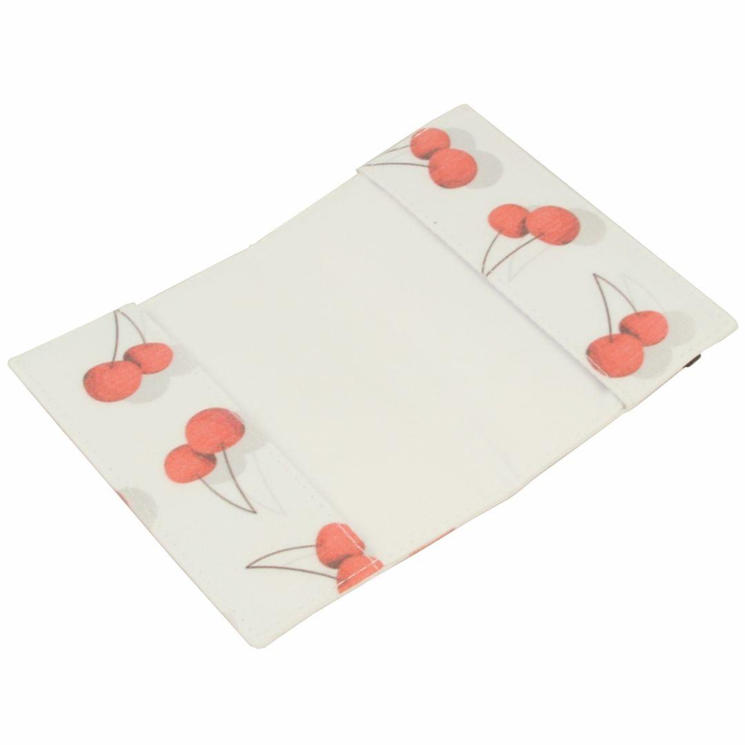Обложка для паспорта Cherry В открытом виде