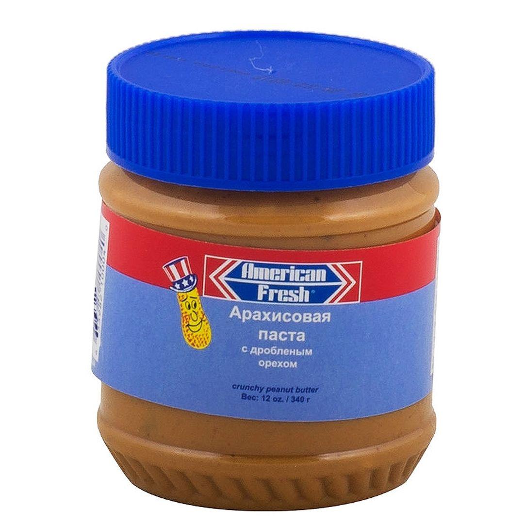 Паста арахисовая American Fresh Crunchy