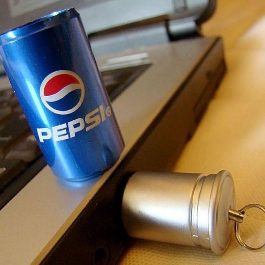 Флешка Банка Pepsi 16 Гб Использование