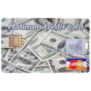 Флешка Кредитка Platinum Credit Card 8 Гб
