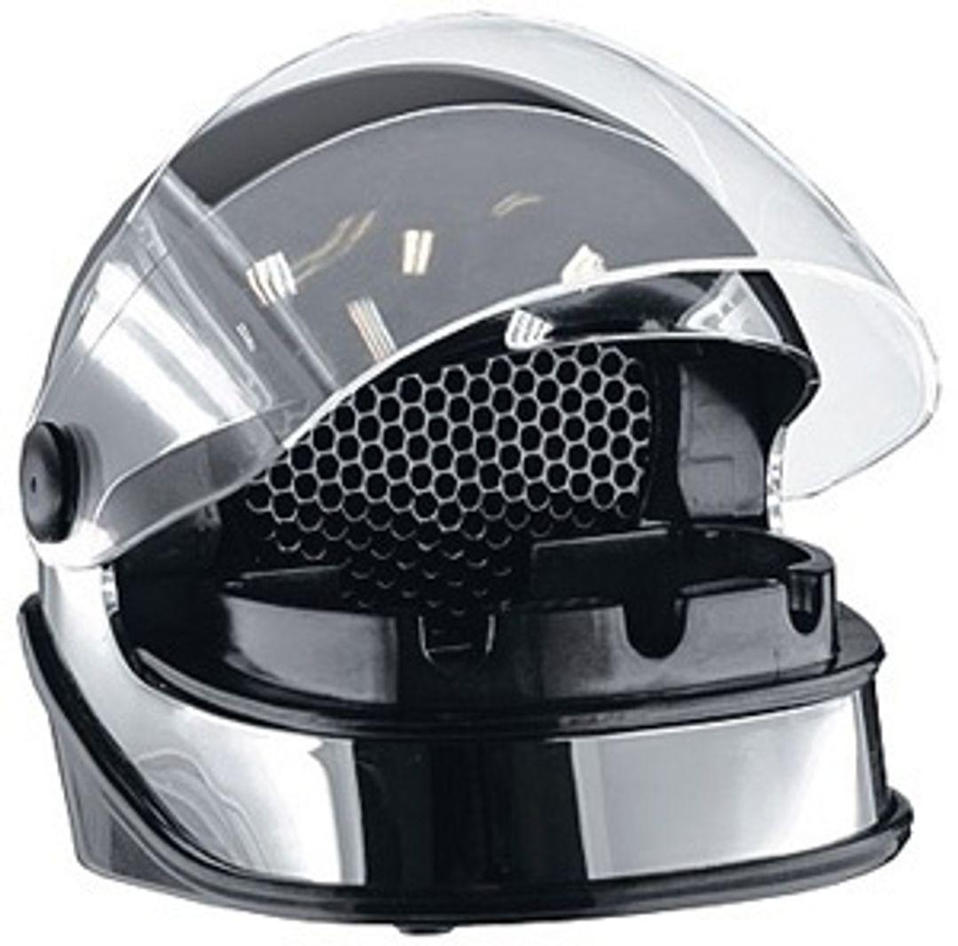 USB Пепельница Серебряный Шлем