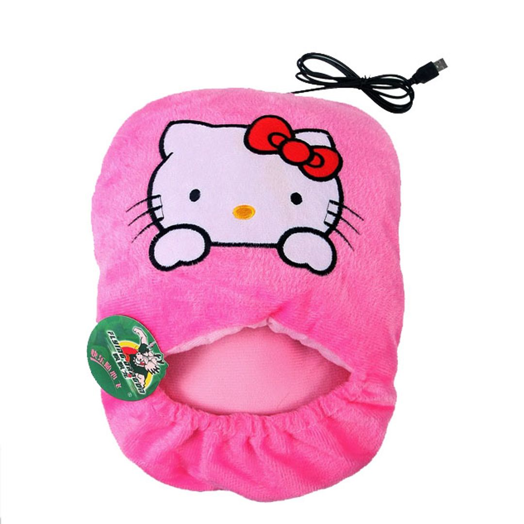 Тапок с подогревом от USB Hello Kitty