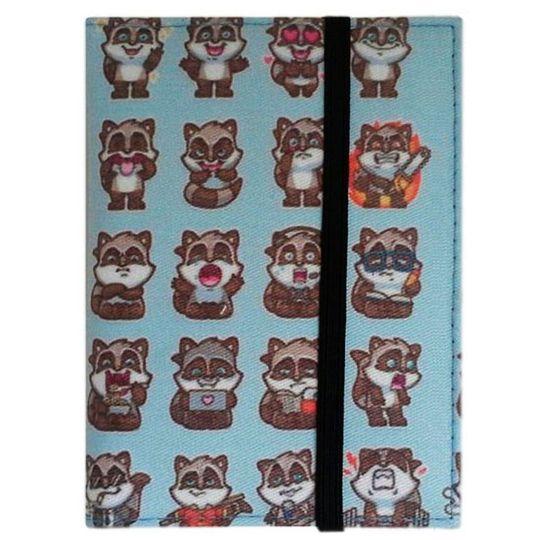 Обложка для паспорта Raccoon Фиксируется резинкой сверху