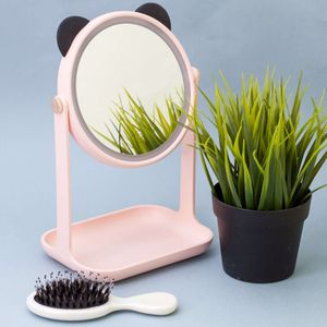 Косметическое зеркало с подсветкой Панда