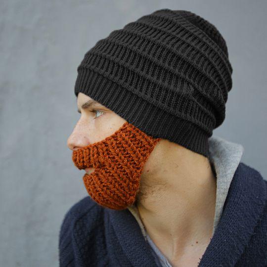 Шапка с бородой