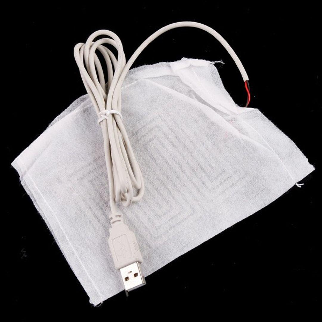 Тапок с подогревом от USB Клубнички
