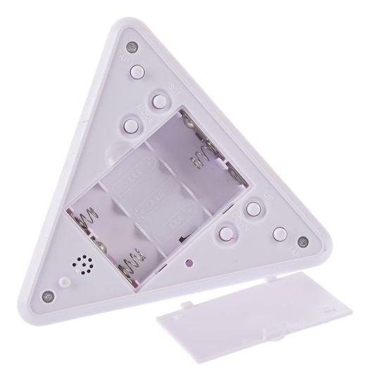 Будильник-релаксатор с термометром Пирамида