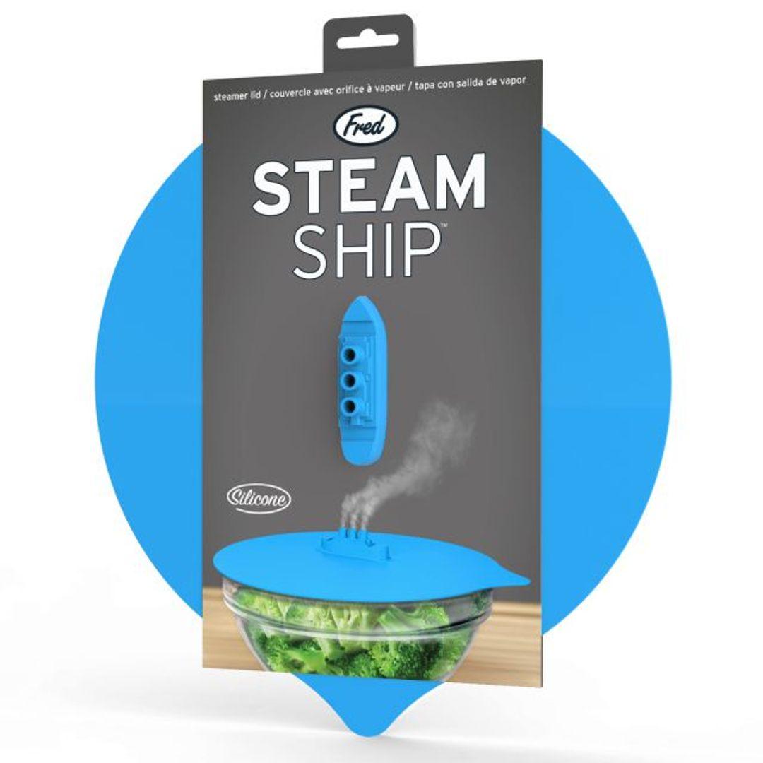 Крышка для блюда Кораблик Steam Ship
