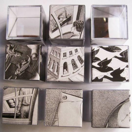 Головоломка Зеркальный Эшер Mirrorkal Escher Пазл из сюрреалистических картин