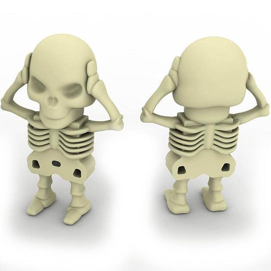 Флешка Скелет 8 Гб