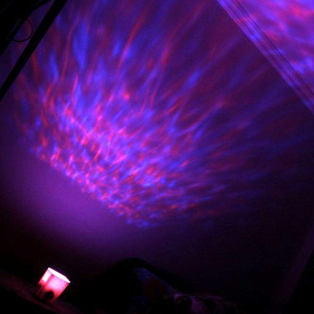 Ночник-проектор Северное сияние Aurora Palette