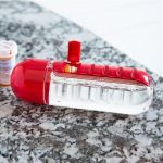 Бутылка с таблетницей Pill&Vitamin Organizer