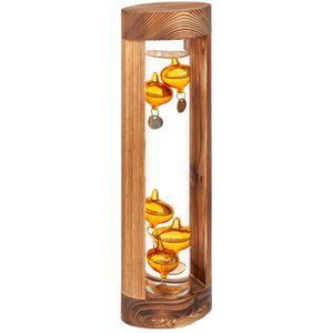 Термометр Галилея Wood Edition