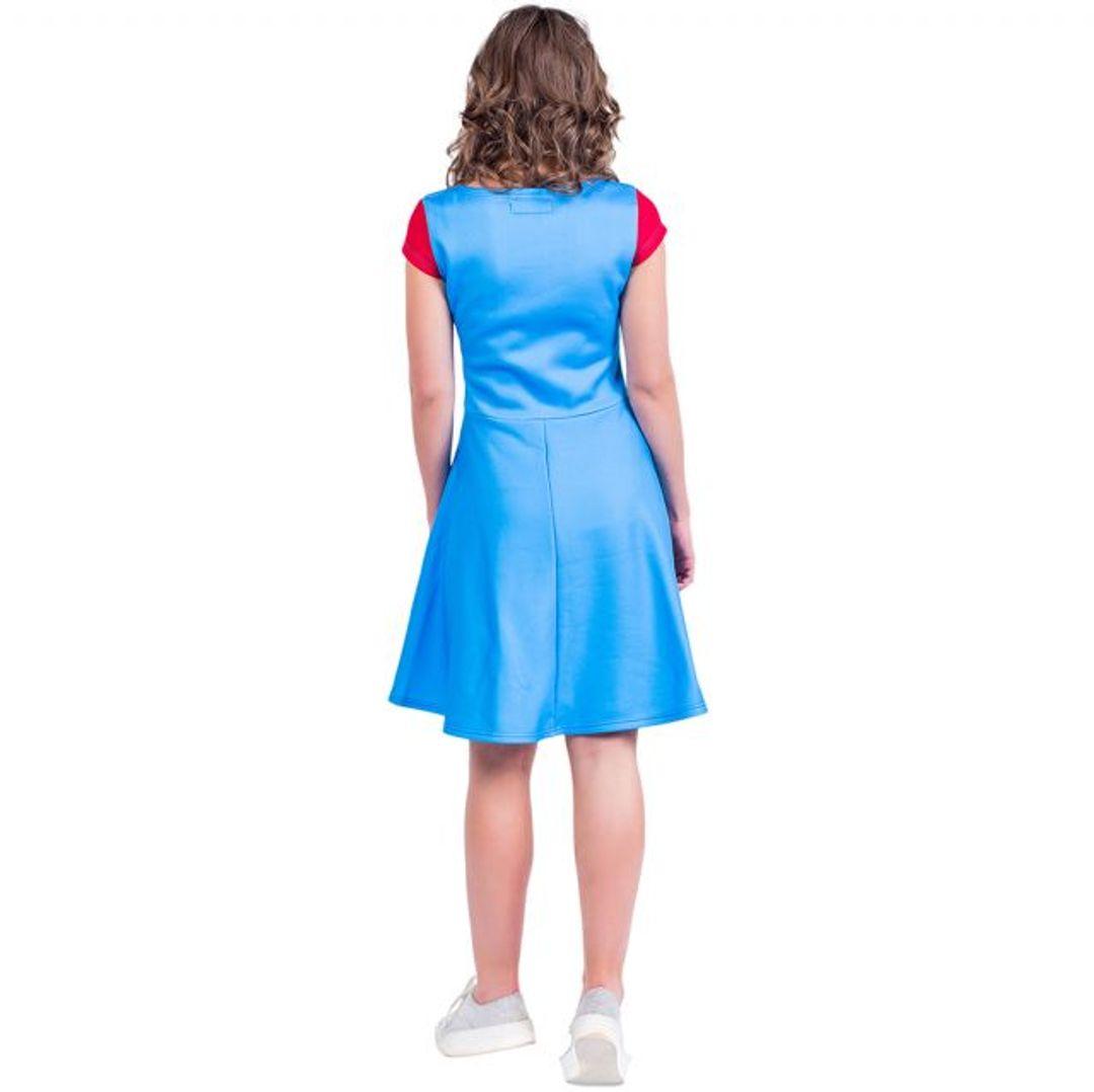Платье Super Mario (Фонарик) Вид сзади