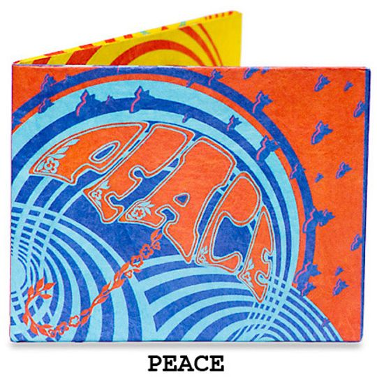 Бумажный Бумажник Mighty Wallet Peace