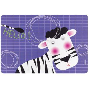 Коврик сервировочный Hello зебра (детский)