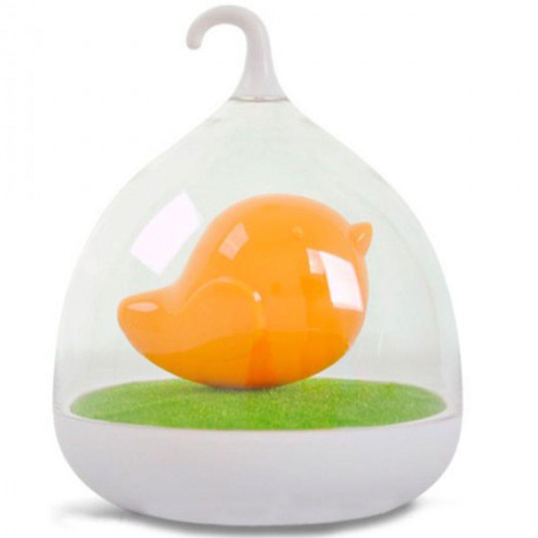 USB Лампа Птичка (Оранжевая)