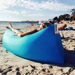Надувной диван Lamzac (Синий) Подходит для пляжа