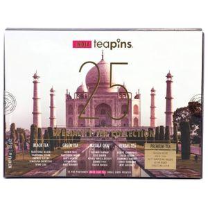 Коллекция листового чая India Teapins (25 видов, 125 г)