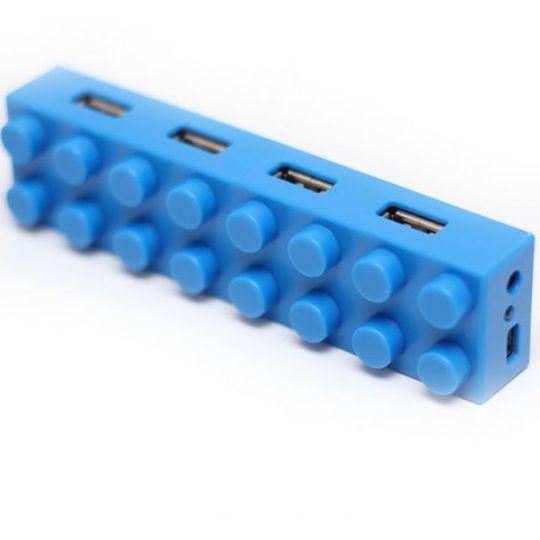 USB Хаб Лего (Синий)