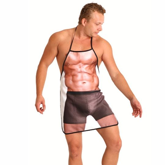 Фартук Качок Sexy Man На человеке