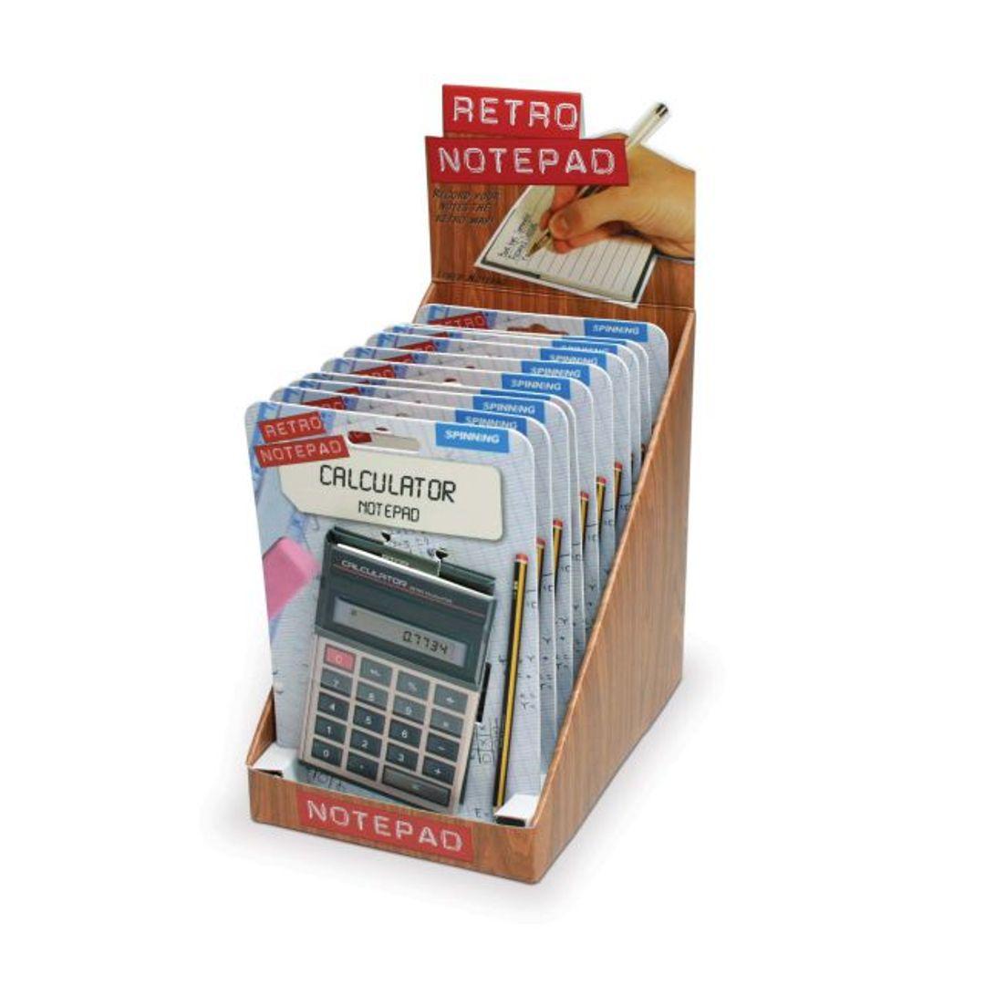 Блокнот Калькулятор Блок из нескольких блокнотов в упаковке