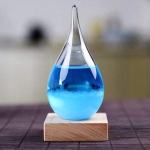 Предсказатель погоды Storm Glass Drop с подсветкой