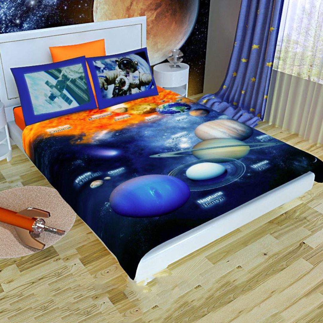 """Комплект постельного белья Newtone """"Космос"""" от 4 150 руб"""