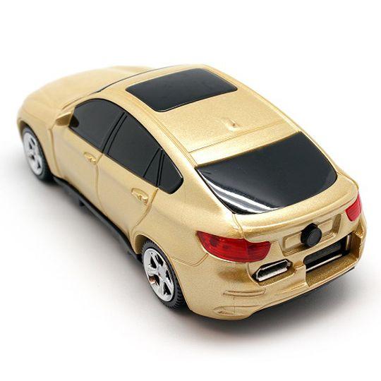Внешний аккумулятор Power Bank BMW (Золотистый)