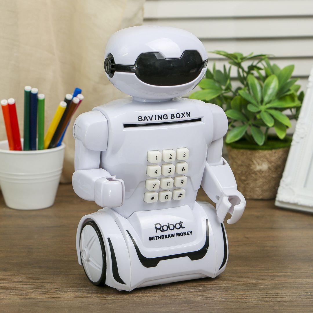 Копилка-светильник Робот