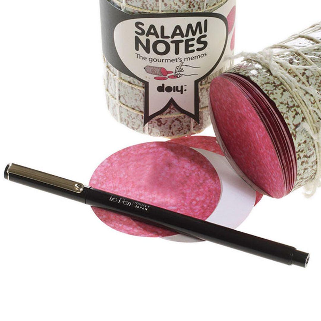 Блок для записей Салями Salami Листочки для записей
