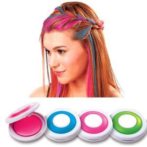 Цветные мелки для волос Hot Huez (4 шт)