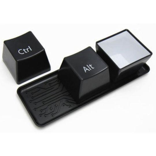 Набор чашек Ctrl+Alt+Del (Черный)