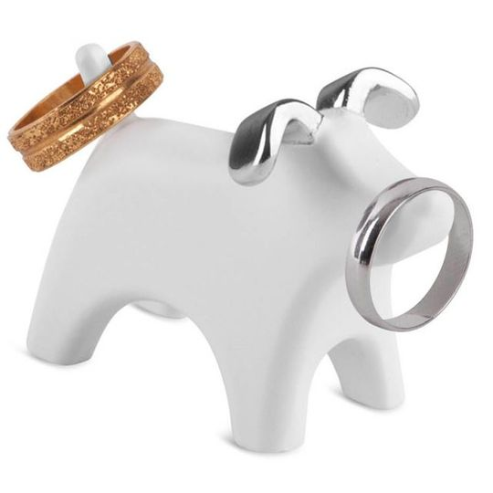 Подставка для колец Собачка Anigram Dog С кольцами