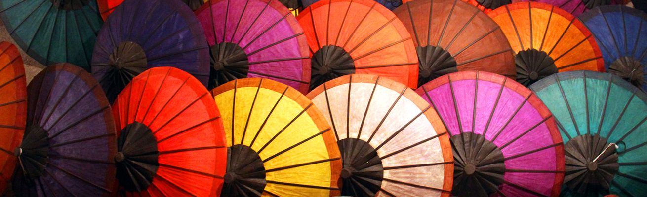 Необычная история зонтов