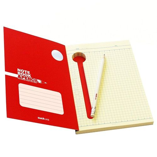 Блокнот с тайником для карандаша<br>(и с карандашом)