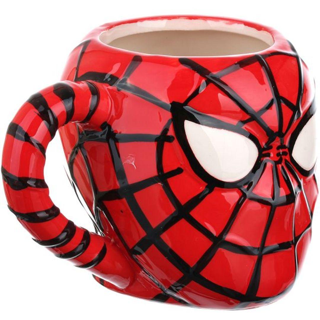 Кружка Человек-Паук Spiderman Со стороны ручки