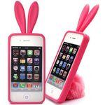 Чехол iPhone 4 Зайчик