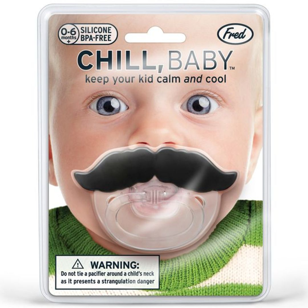 Соска-пустышка Усы Chill, Baby