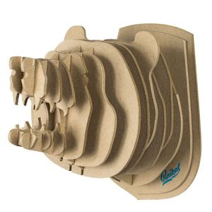 3D Конструктор Голова дикого медведя