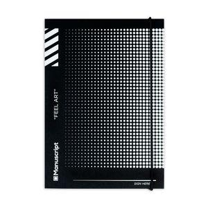 Скетчбук Off-black Dot (A5 Plus)